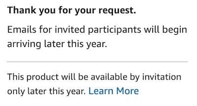 Amazon Echo Auto pas cher précommande invitation