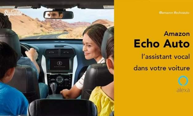 Amazon Echo Auto prix avis test de l'assistant vocal de voiture Alexa