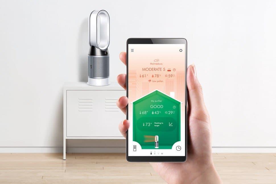 Dyson Pure Hot+Cool avis test prix ventilateur connecté