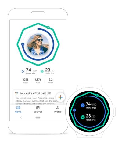 Emporio Armani connected 2018 suivi activité santé physique sport