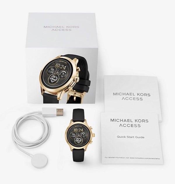 Michael-Kors-Access-Runway-prix-test-avis-emballage
