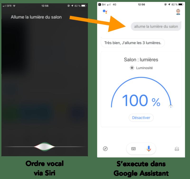 Siri remplace votre Google Home
