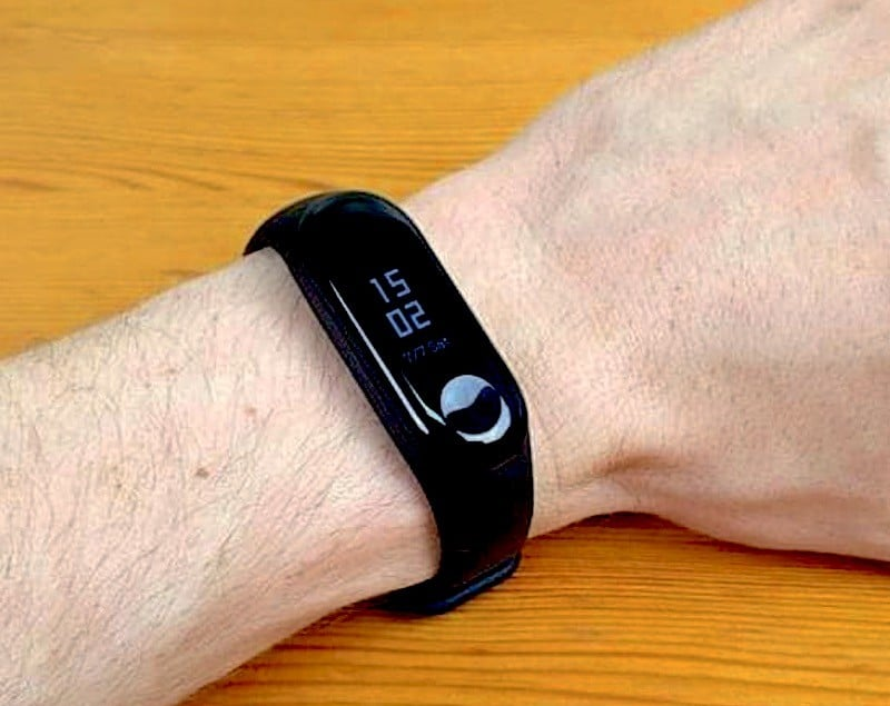 Xiaomi Mi Band 3 google fit mi fit
