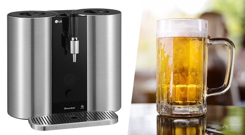 LG HomeBrew avis test prix machine a biere cartouche