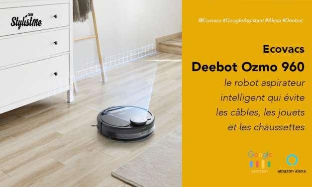 Ecovacs Deebot Ozmo 960 prix avis robot aspirateur vraiment intelligent