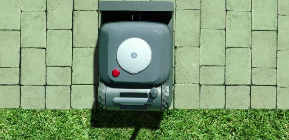 irobot terra prix avis test robot tondeuse base recharge