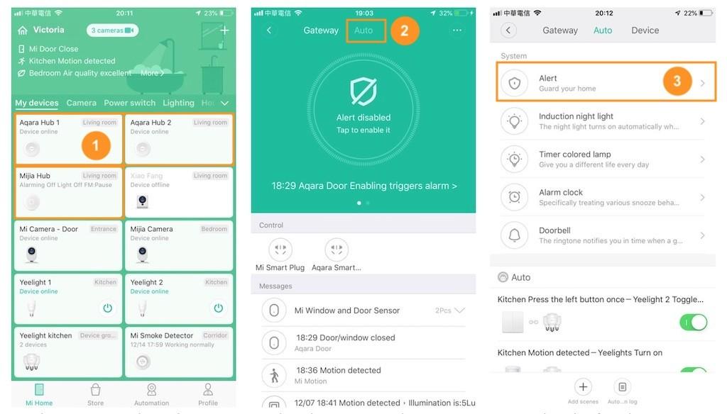 Système d'alarme HomeKit pas cher Aqara Mi Home de Xiaomi 1