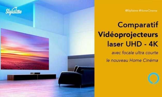 Meilleur vidéoprojecteur laser ultra courte focale : comparatif 2020 prix avis test