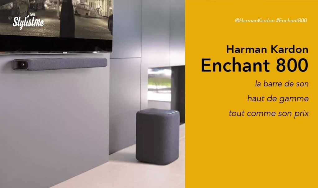 Harman Kardon Enchant 800 barre de son haut de gamme