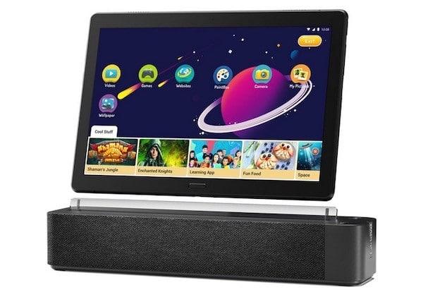 Lenovo Smart Tab 10 prix avis test vidéo