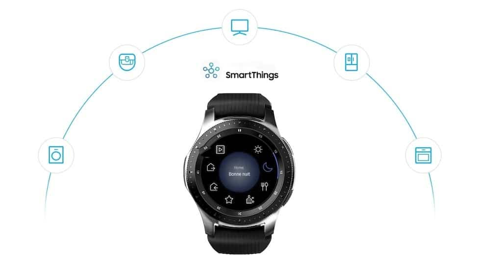 montre compatible bixby galaxy watch smartthings