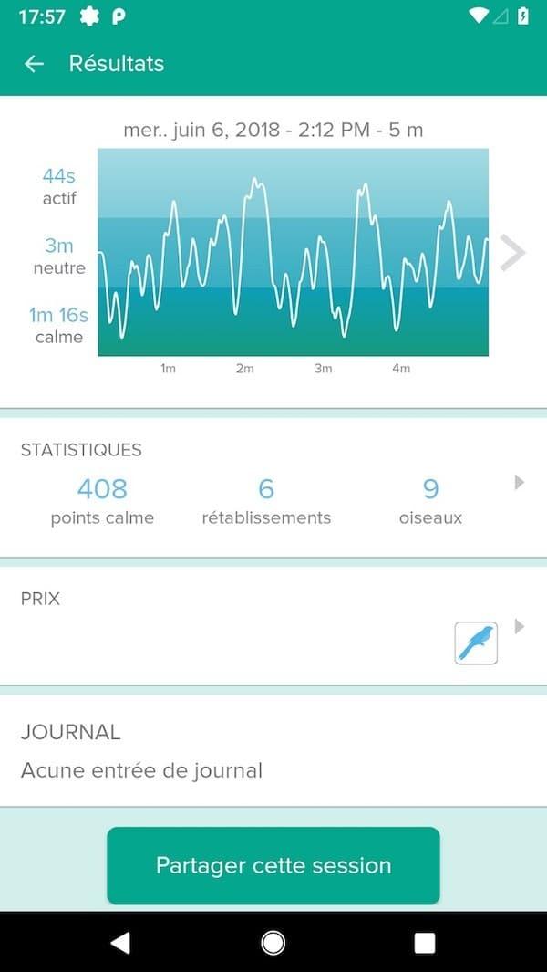 Muse 2 avis test prix bandeau de méditation connecté exercices