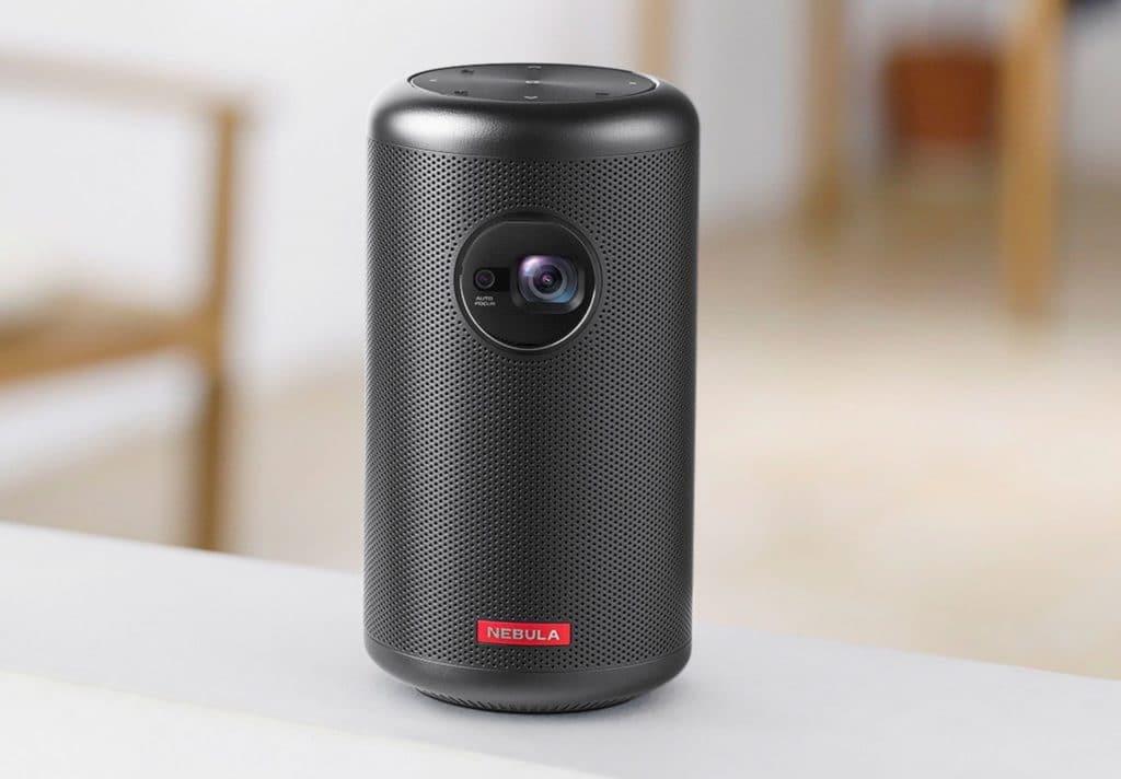 Nebula Capsule prix avis test design comparatif mini vidéoprojecteur