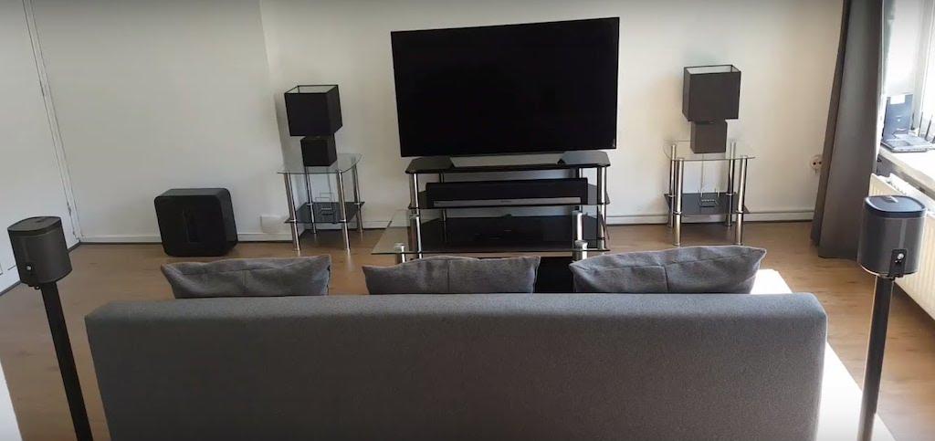 Sonos installation 5 1 home cinéma