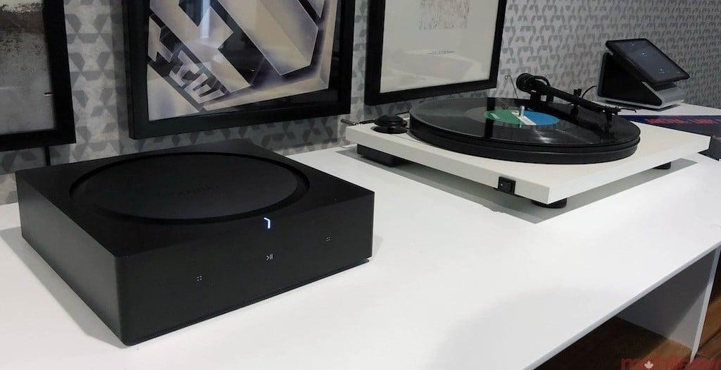 Sonos Amp avis test prix platine disque