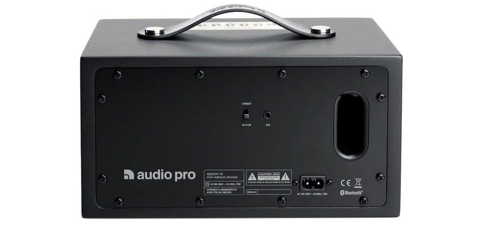 Audio Pro Addon T4 avis test connectique