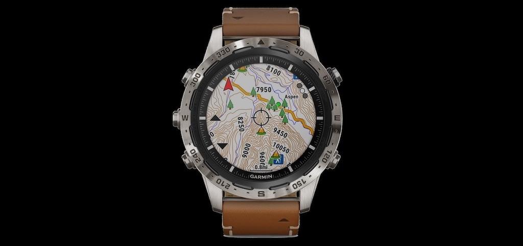 Garmin marq expedition prix avis test montre randonnée connectée