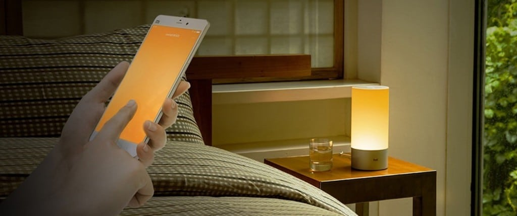 Xiaomi mijia lampe de chevet connectée