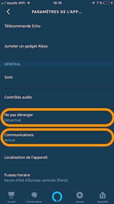 Alexa couper micro et écoute active