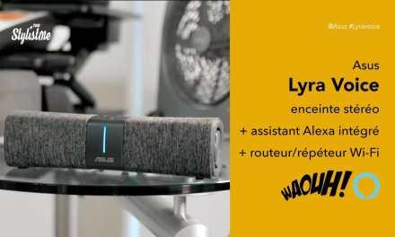 Asus Lyra Voice le 3 en 1 : enceinte, assistant vocal Alexa et routeur Wi-Fi