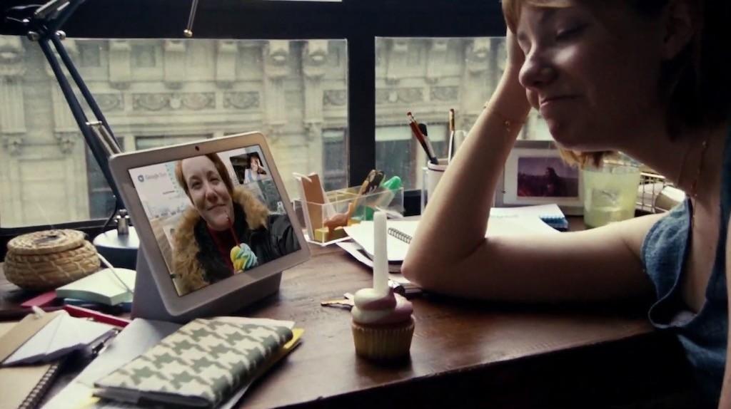 Google Duo appel video Nest Hub Max