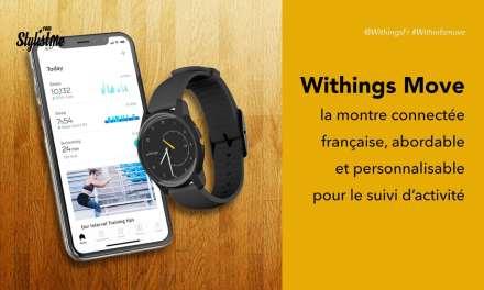 Withings Move prix avis montre connectée française à moins de 70 €