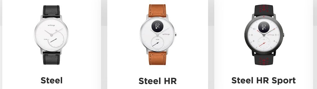 Withings Move Pulse Steel