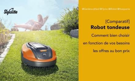 Robot tondeuse connecté comparatif 2020 et guide d'achat