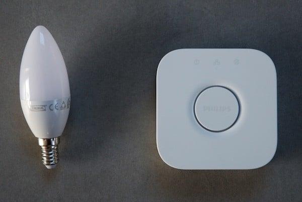 Comment connecter vos ampoules Ikea tradfri avec pont hue Philips