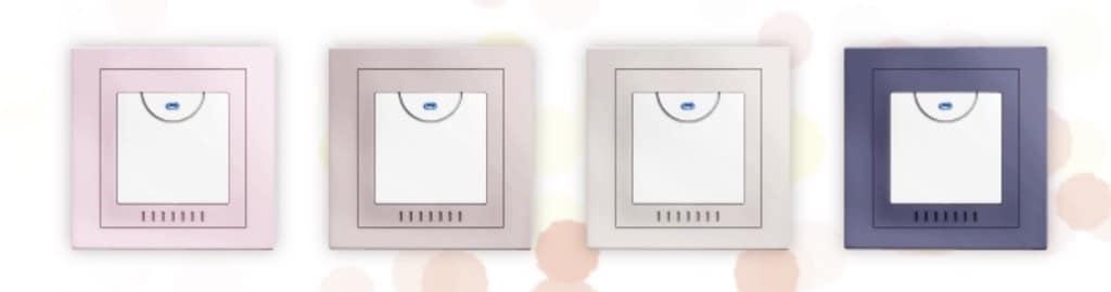 Interrupteur HomeKit Frontier Aura cache couleur