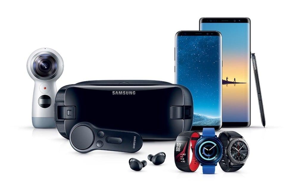 Samsung Galaxy gamme objets connectés