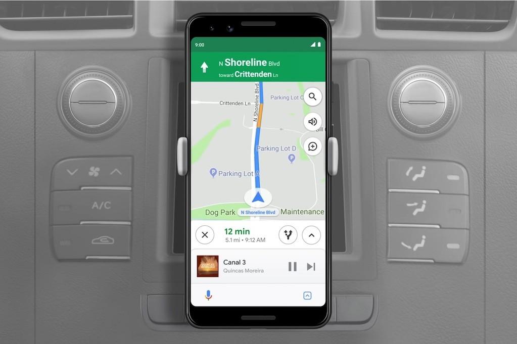 Google Assistant Driving pour la voiture