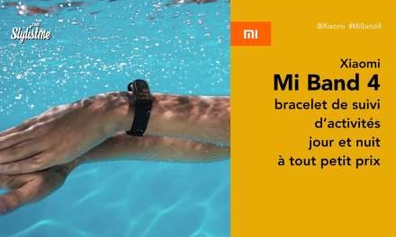 Mi Band 4 avis prix test bracelet connecté suivi activités de Xiaomi