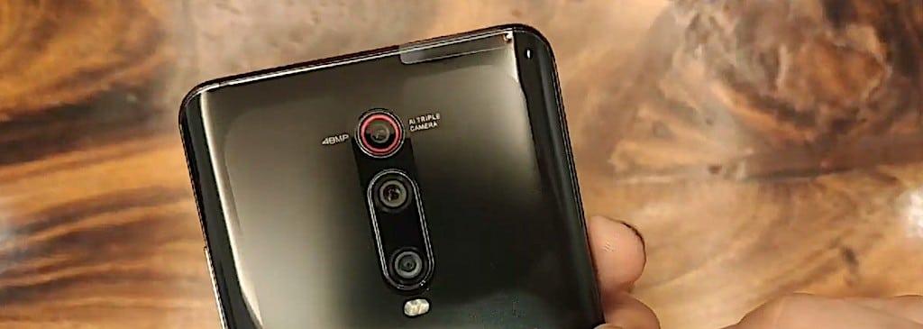 Xiaomi mi 9t test photo vidéo
