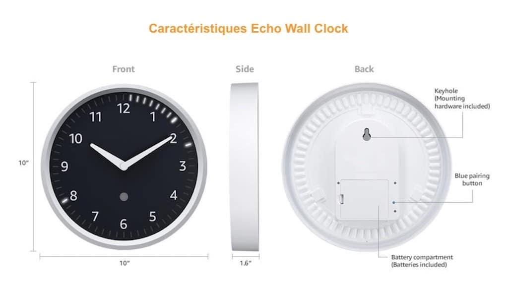 echo-wall-clock-caracteristiques