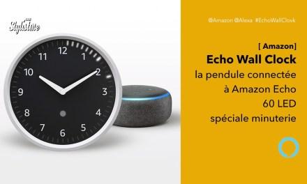 Echo Wall Clock l'horloge connectée à l'enceinte Echo d'Amazon