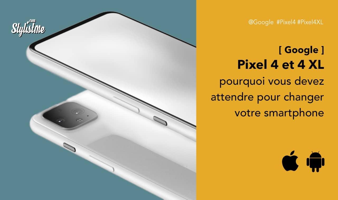 Google Pixel 4 avis prix test caractéristiques date