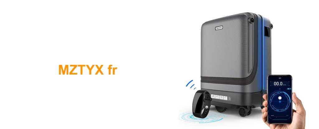 MZTYX fr valise connectée comparatif