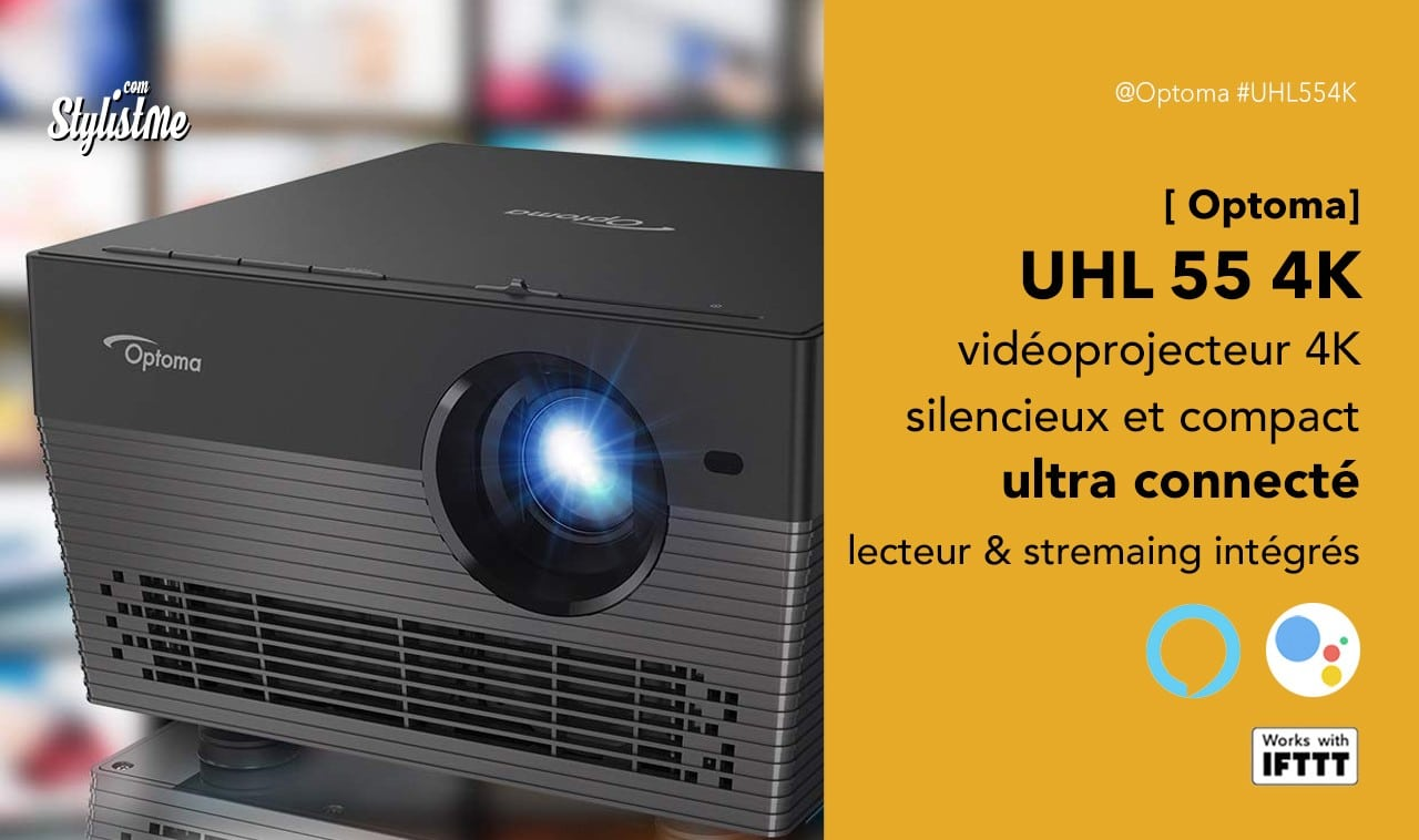 Optma UHL 55 4K prix avis test