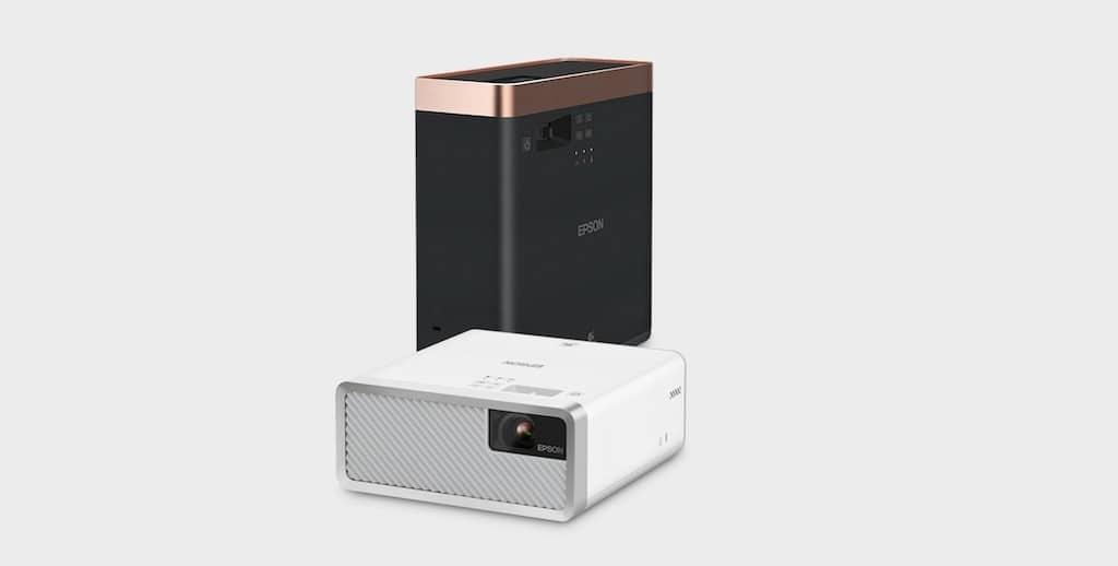 Epson EF 100 avis design vidéoprojecteur portable