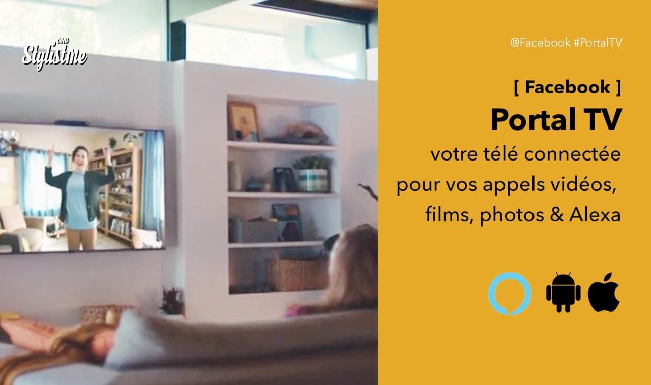 Facebook Portal TV avis test prix