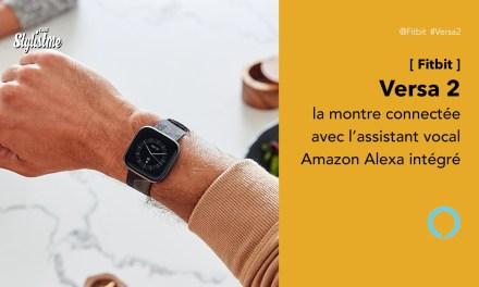 Fitbit Versa 2 prix avis test, montre connectée avec Amazon Alexa intégrée