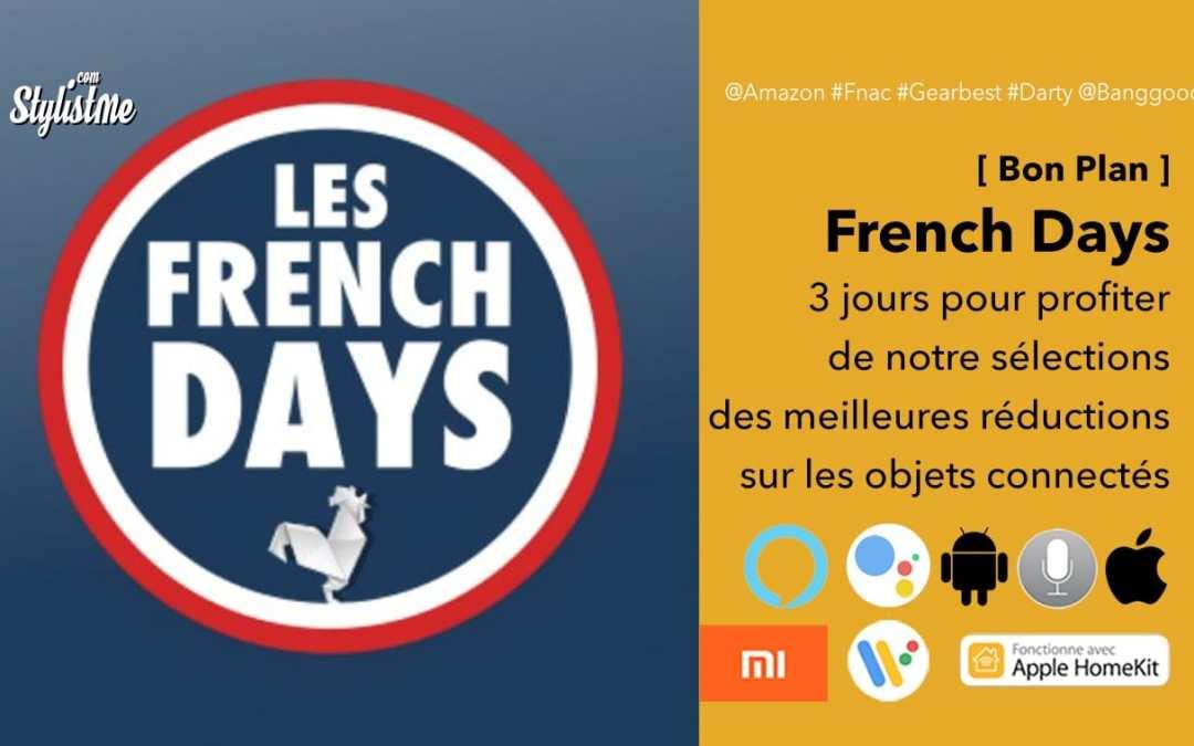 Promotions et codes réductions objets connectés French Days 2019