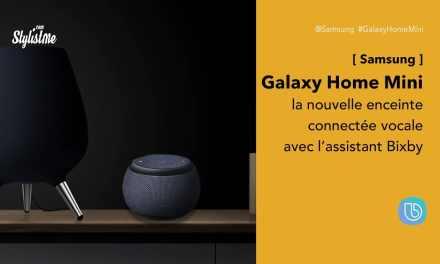 Galaxy Home Mini prix avis enceinte vocale Samsung avec Bixby