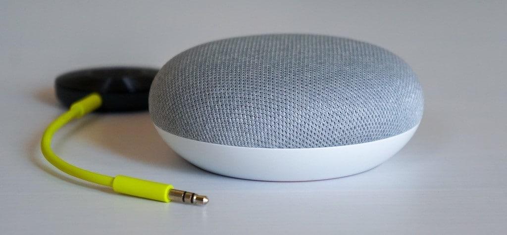 Google Nest Mini Chromecast Audio stéréo