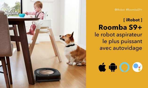 Roomba S9+ avis prix du robot aspirateur avec auto-vidage