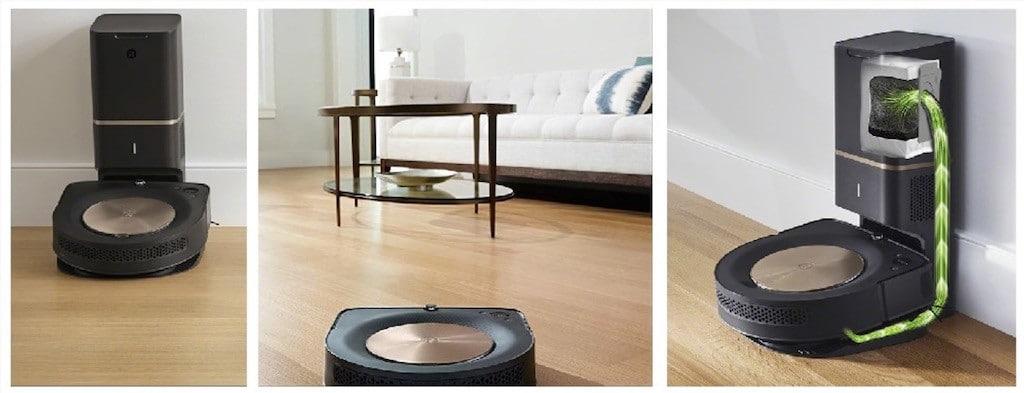 Roomba S9+ fonctionnalités connexion