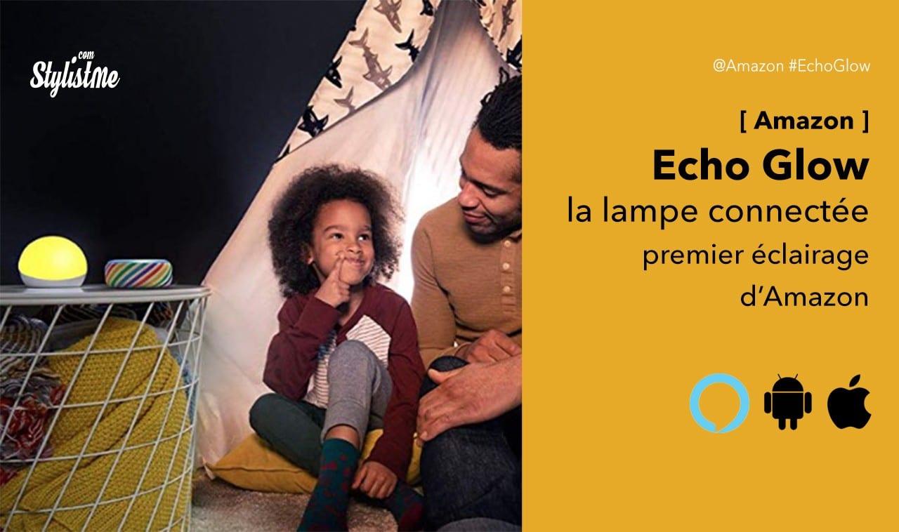 Amazon Echo Glow lampe connectée enfant