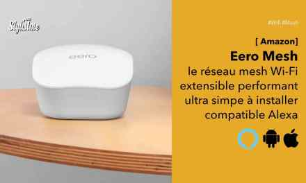 Eero Mesh Amazon pour un réseau Wi-Fi maillé stable et performant