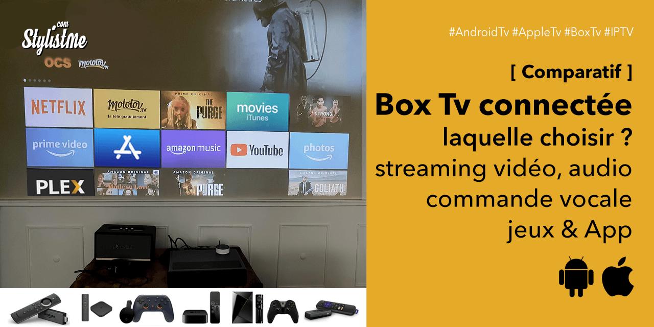 Box TV Android 2020 : transformer votre télé en TV connectée (comparatif)